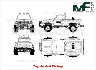 Toyota 4x4 pickup blueprints ai cdr cdw dwg dxf eps gif toyota 4x4 pickup blueprints ai cdr cdw dwg dxf malvernweather Images