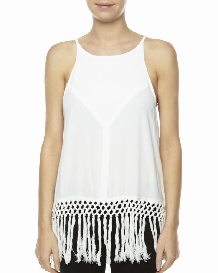 SOMEDAYS LOVIN GIVE ME ONE REASON TASSEL VEST - http://www.surfstitch.com/eu/en/product/somedays-lovin-give-me-one-reason-tassel-vest-white-SL2039WHI