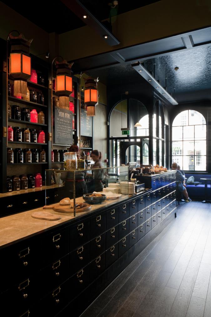 Pavilion tea company brighton uk designlsm