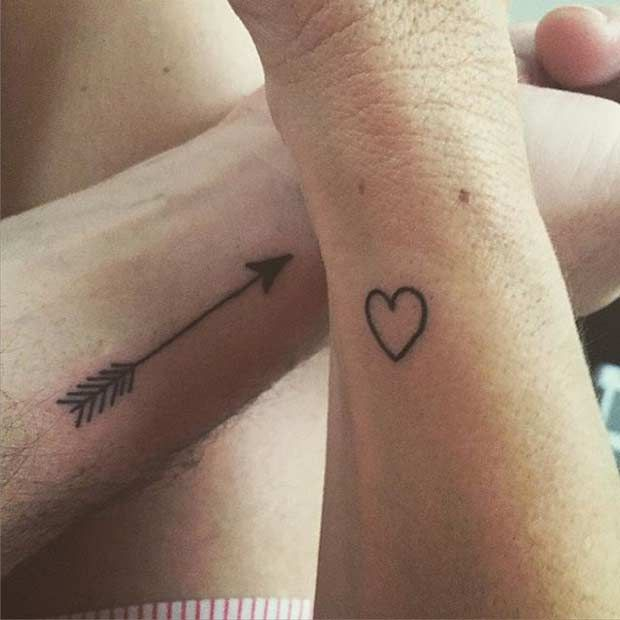 81 Cute Couple Tattoos That Will Warm Your Heart Cute Couple