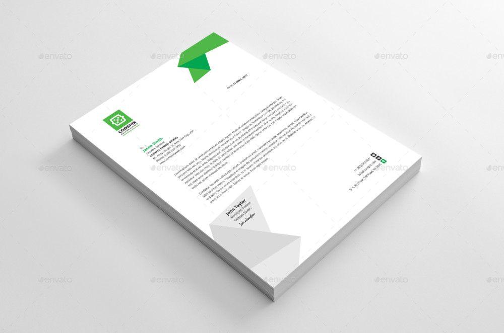 creative letterhead template modern business letterhead Letterhead