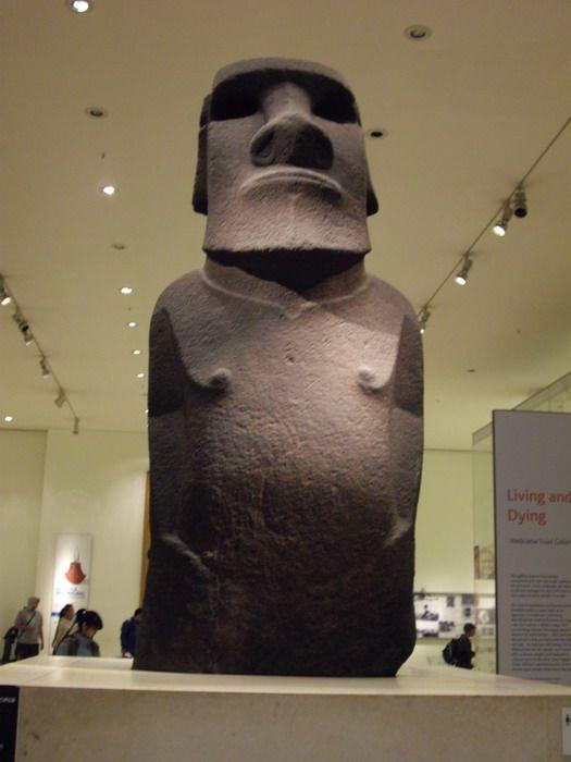 Hoa Hakananai'a, Easter Island (Rapa Nui) Moai Statue ...