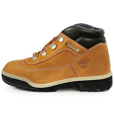 preschool timberland field boots