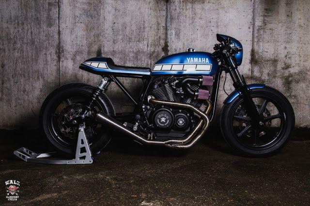 ϟ Hell Kustom ϟ: Yamaha XV950 By Walzwerk Racing