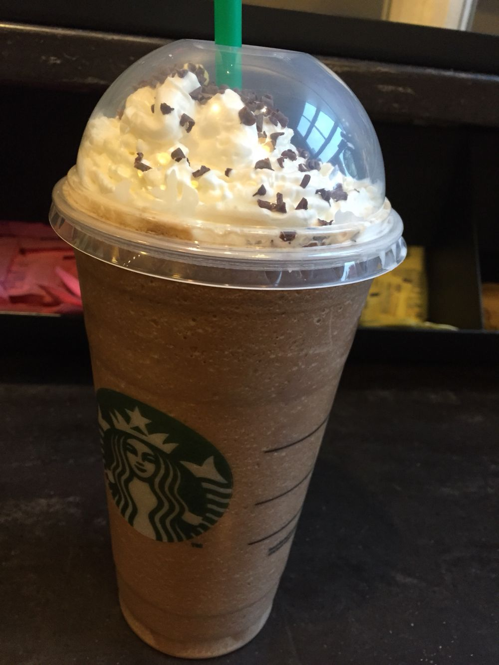Peppermint Mocha Frappuccino Starbucks Starbucks Drinks