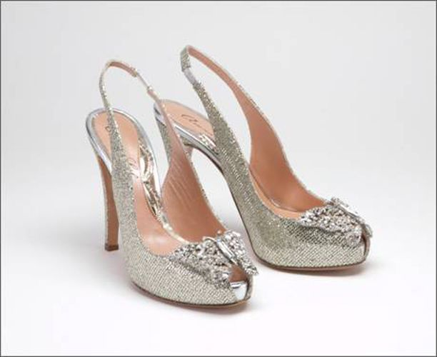 Images of Silver Shoes For Wedding - Weddings Pro