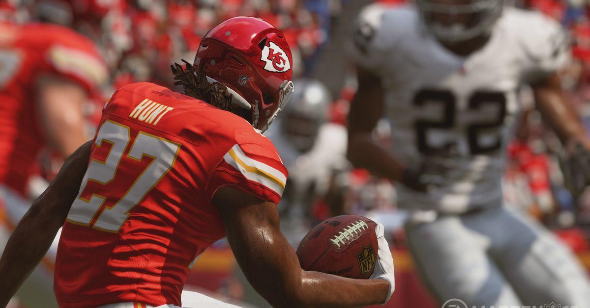 Polygon EA removing Kareem Hunt from Madden NFL 19