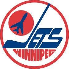 Winnipeg Jets #80s logo