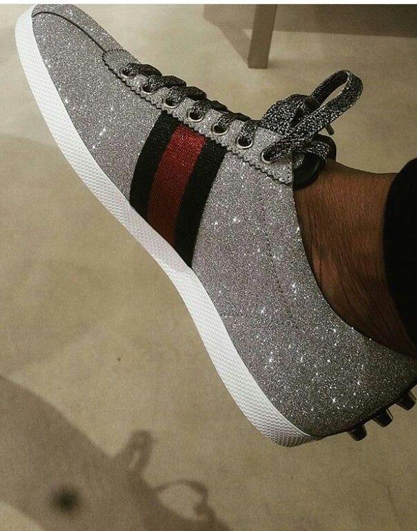 Bling please   Sneaker heels, Sneakers