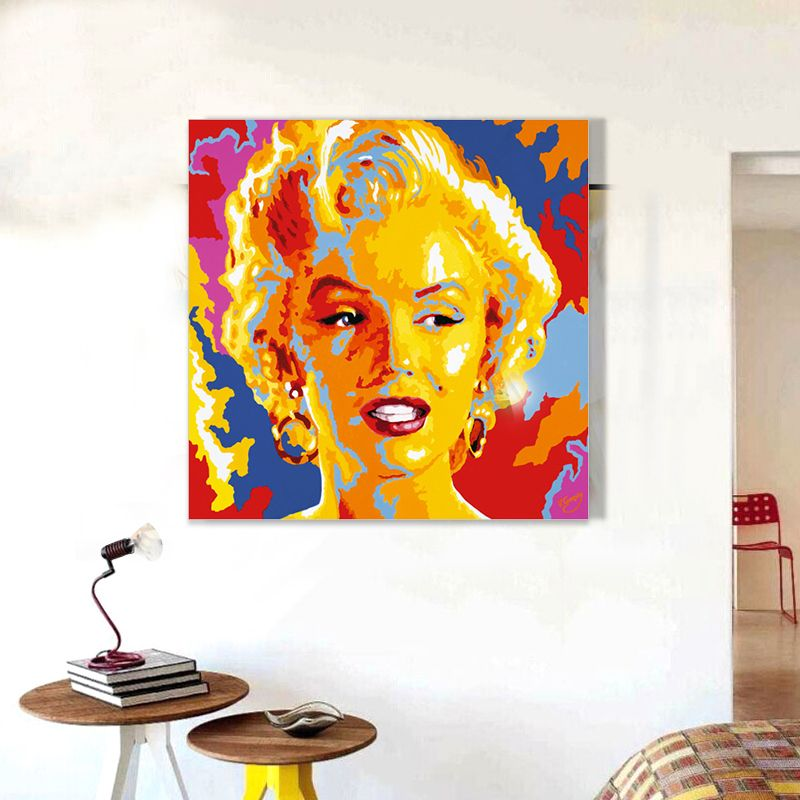 Hotselling Abstract Super Star Oil Painting Hand Painted On Canvas