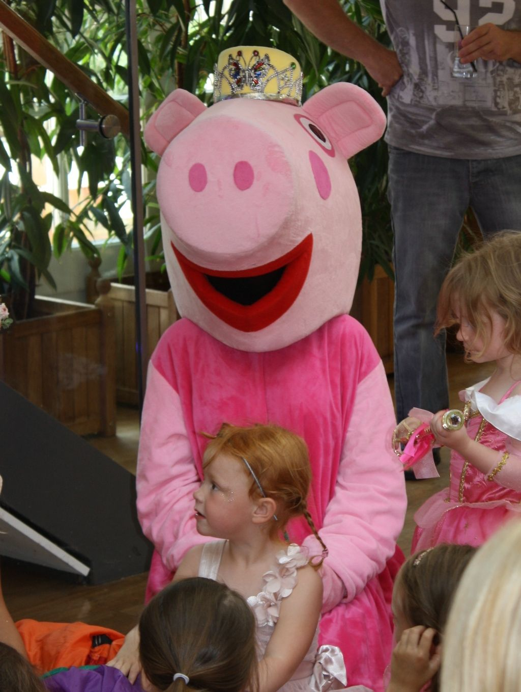 Princess Peppa Pig Meet And Greet And Games Plan A Party Co London