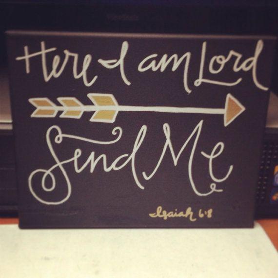 Quote send me ISAIAH 6:8