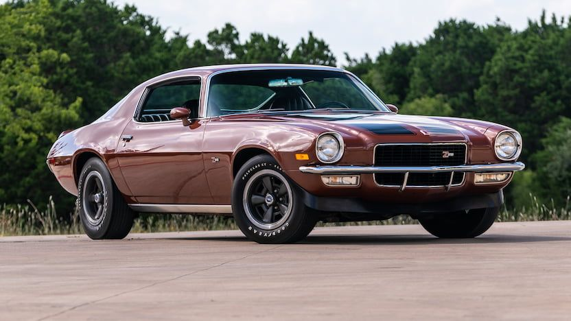 1971 Chevrolet Camaro Z28 | F152 | Dallas 2019 | Mecum Auctions