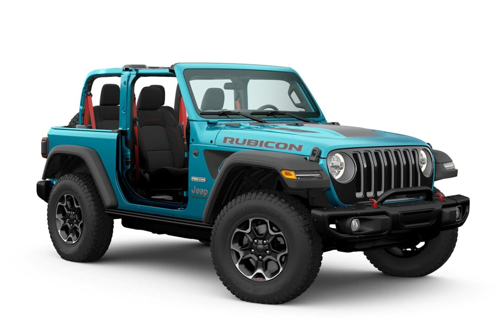 New Jeep Wrangler Rubicon Quietly Joins The Lineup. Say