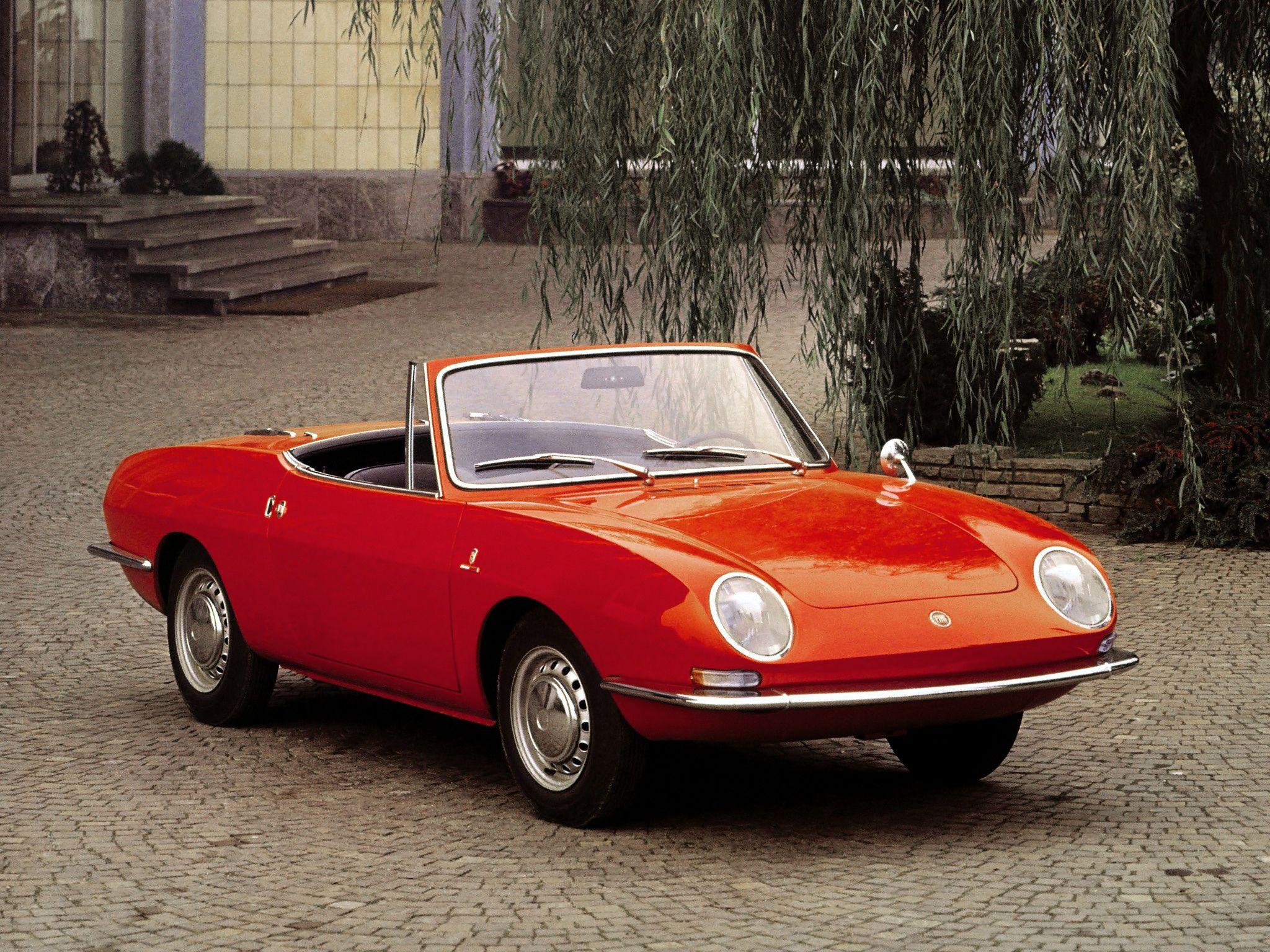 1965 68 Fiat 850 Spider Fiat 850 Fiat Barchetta Fiat Cars
