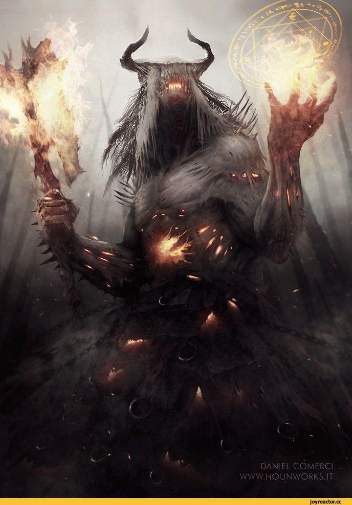 Fantasy,Fantasy art,art,арт,красивые картинки,Мрачные картинки,демон