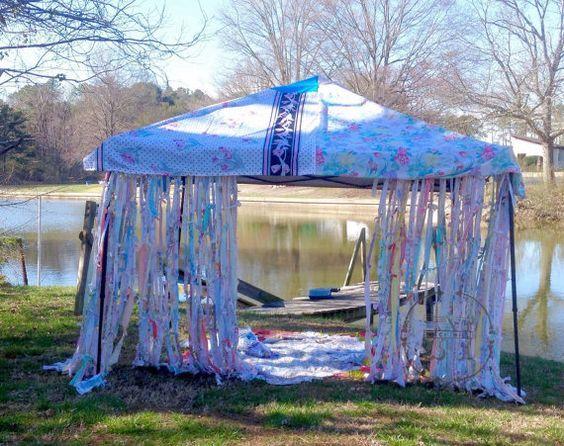 Boho Canopy Cover Bohemian Market Tent Junk Gypsy by ...