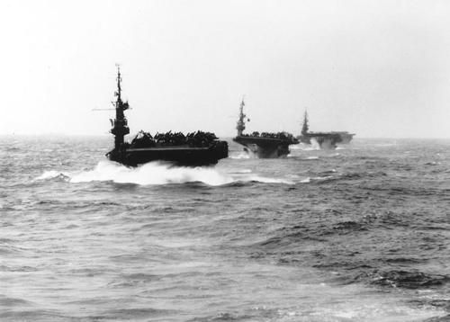 u.s. navy escort carriers