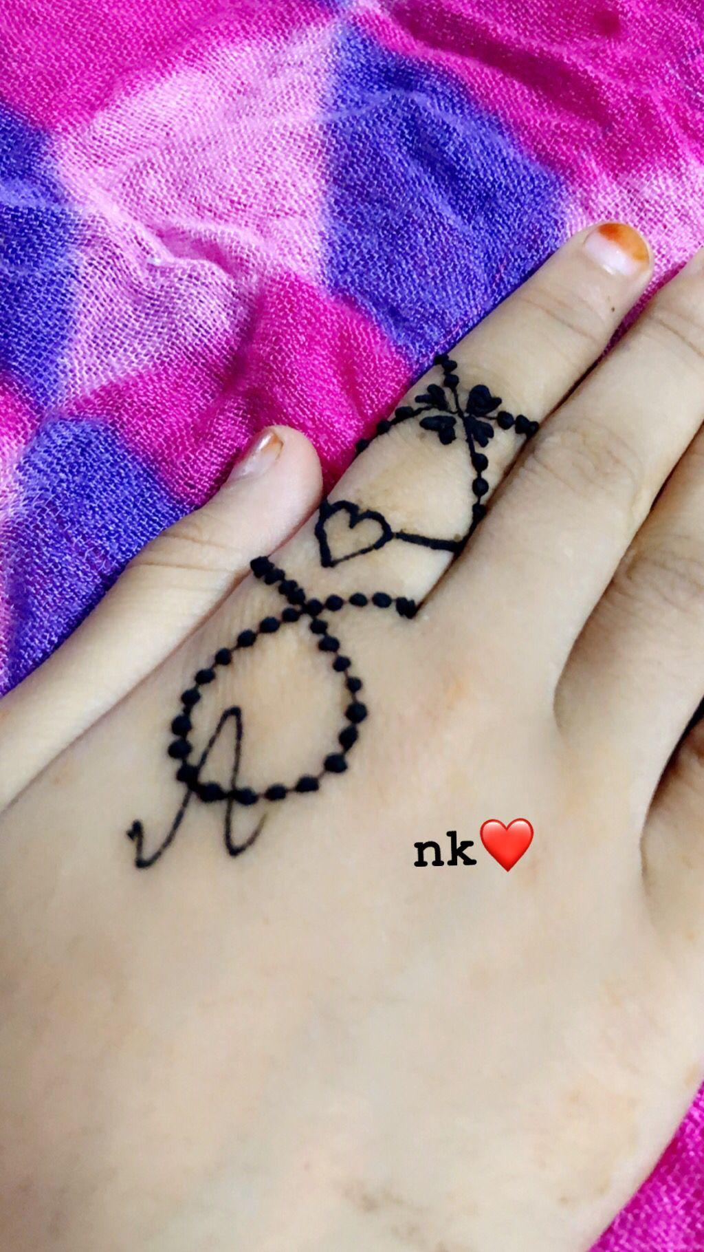 Henna Alphabet A Mehndi Designs For Fingers New Mehndi Designs Mehndi Art Designs