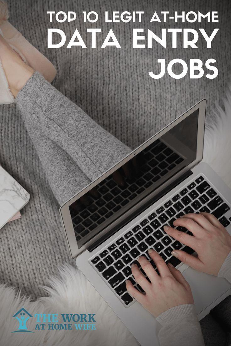 10 legit data entry jobs from home 10 Legit Data Entry