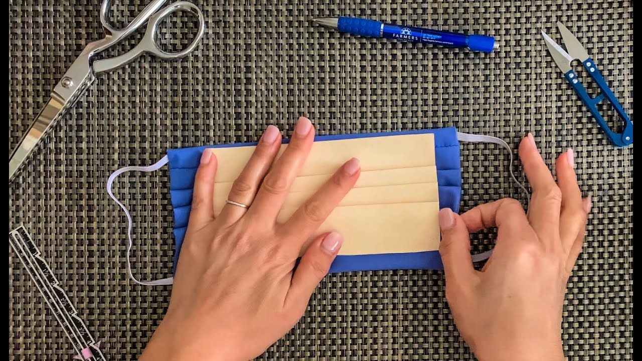 Photo of How to make Paper Templates for Pleated Face Mask