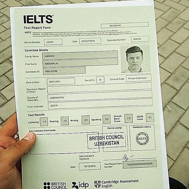 IELTS Certificate Without Exam In Kuwait
