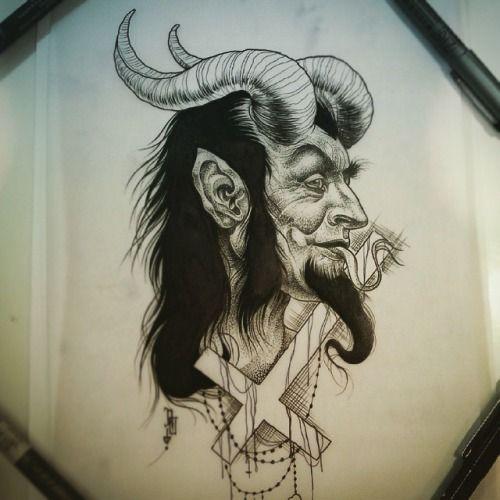 Satan 39 s face flash like pinterest more tattoo and for Satanic tattoo designs