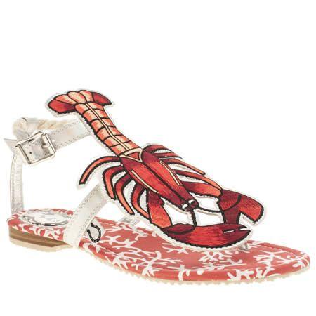 4cb06df1f womens miss l-fire red rock lobster sandals