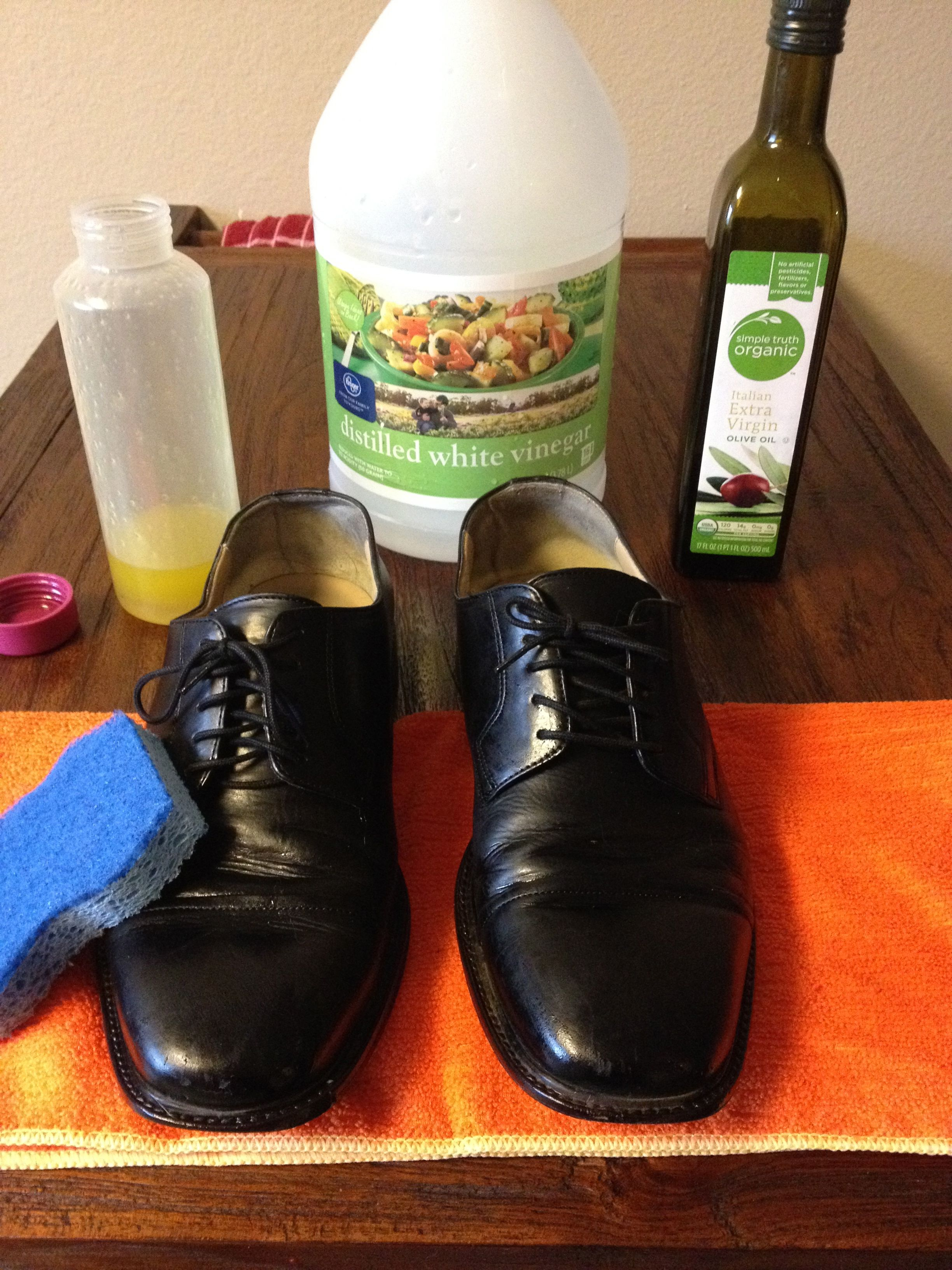 Homemade Shoe Polish Homemade Shoes Cleaning Leather Boots