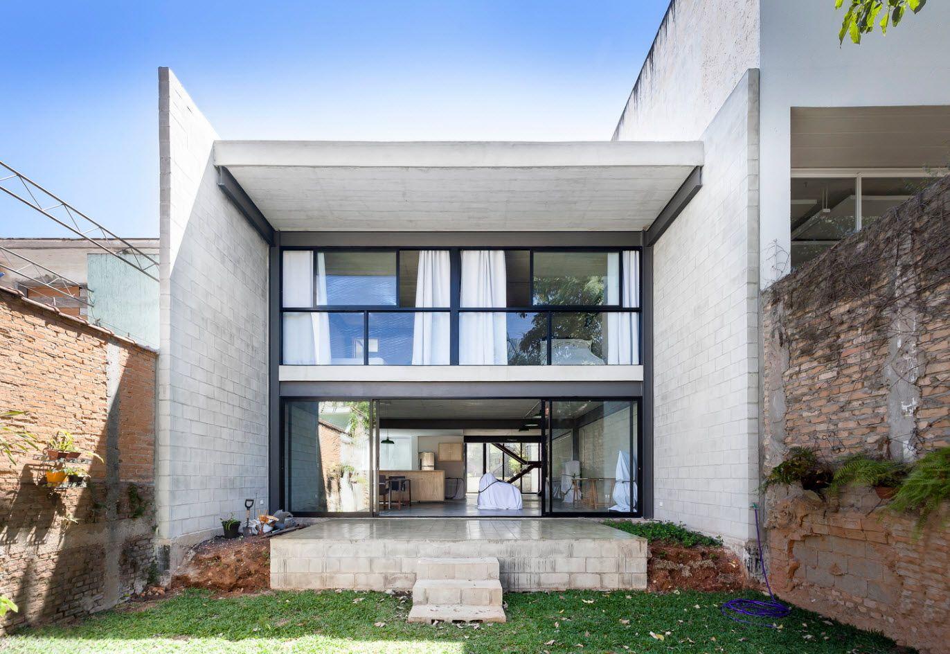 Diseño casa económica de dos pisos, construcción con bloques de ...