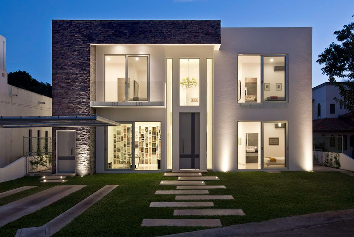 Casa minimalista moderna 20 foto di ville da sogno casa for Esterni di ville