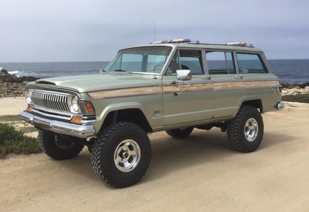 '71 Jeep Wagoneer Custom | BaT Auctions