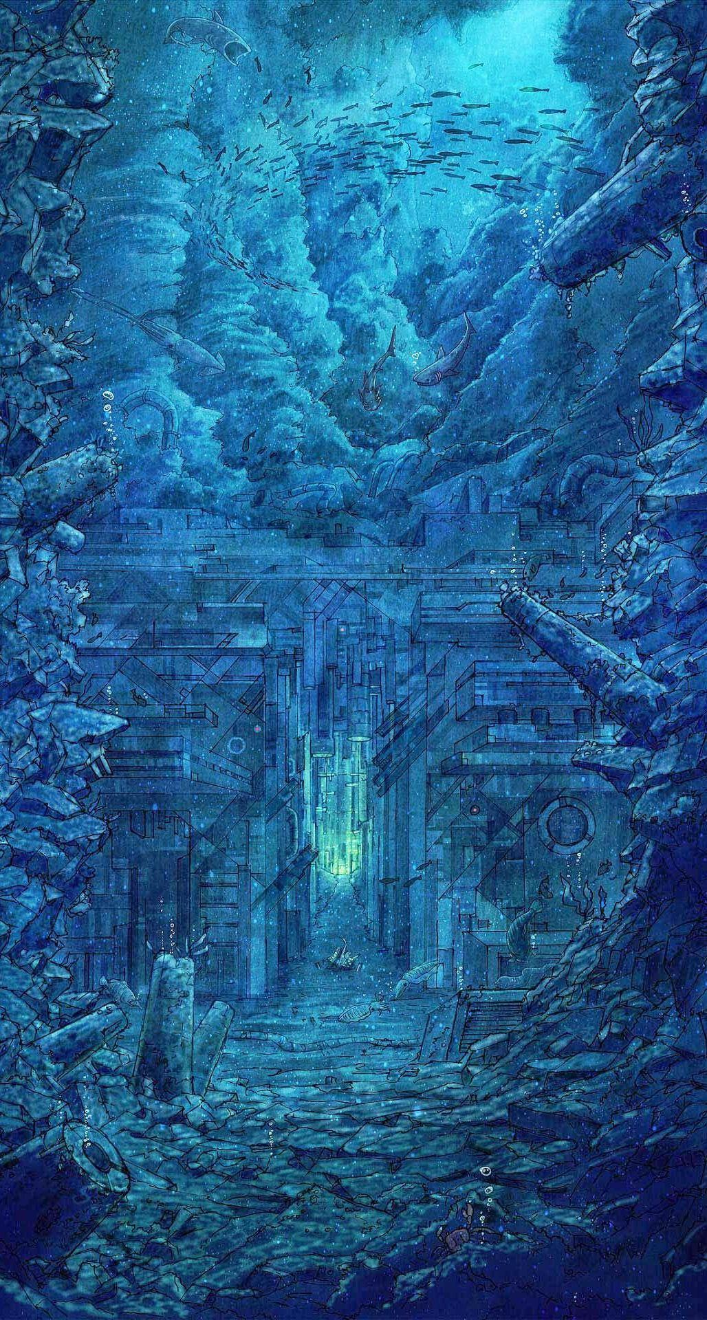 Cool Fond Decran Gratuit Science Fiction Hd Wallpaper 316 Check More At Http All Images Net Fond Decran Gratuit Sci Art Hd Phone Wallpapers Fantasy Landscape