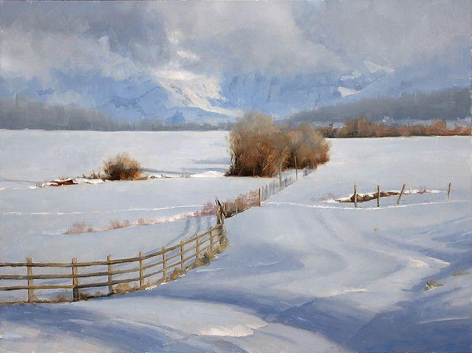 Artwork of Oil Painter David Santillanes