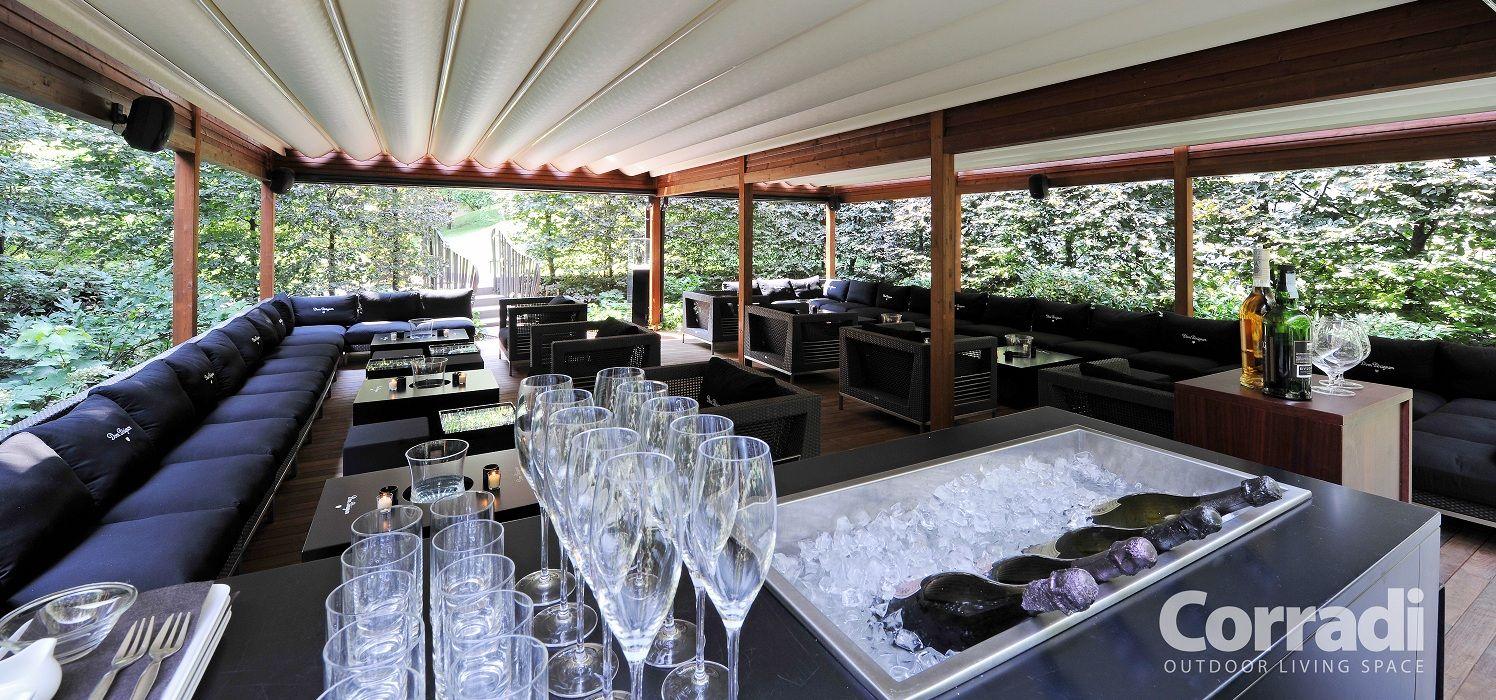 Corradi® outdoor living op horeca terras. Dak, meubels van ... on Corradi Outdoor Living id=34583