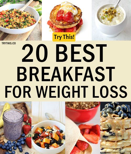 What is best breakfast to lose weight