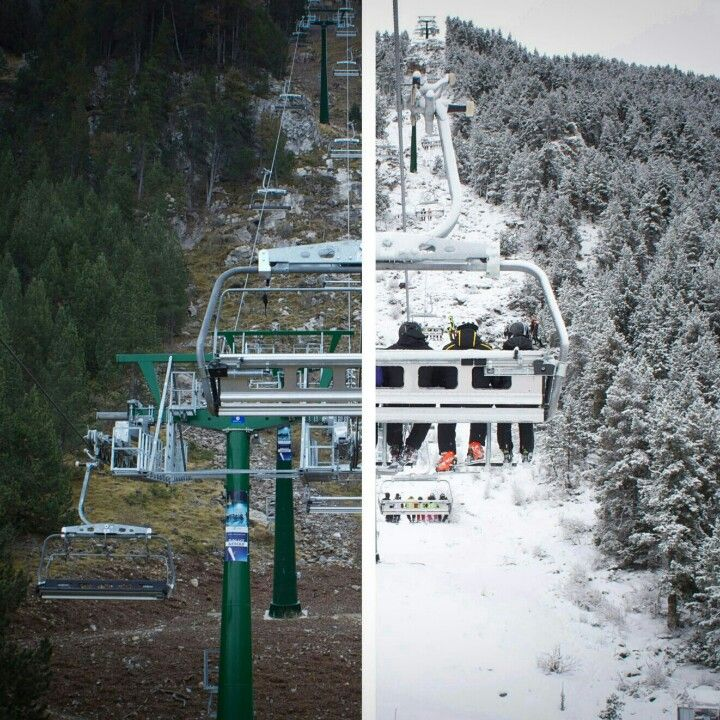 La Molina Paisajes Esquí Nieve