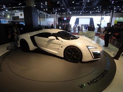 Futuristische auto