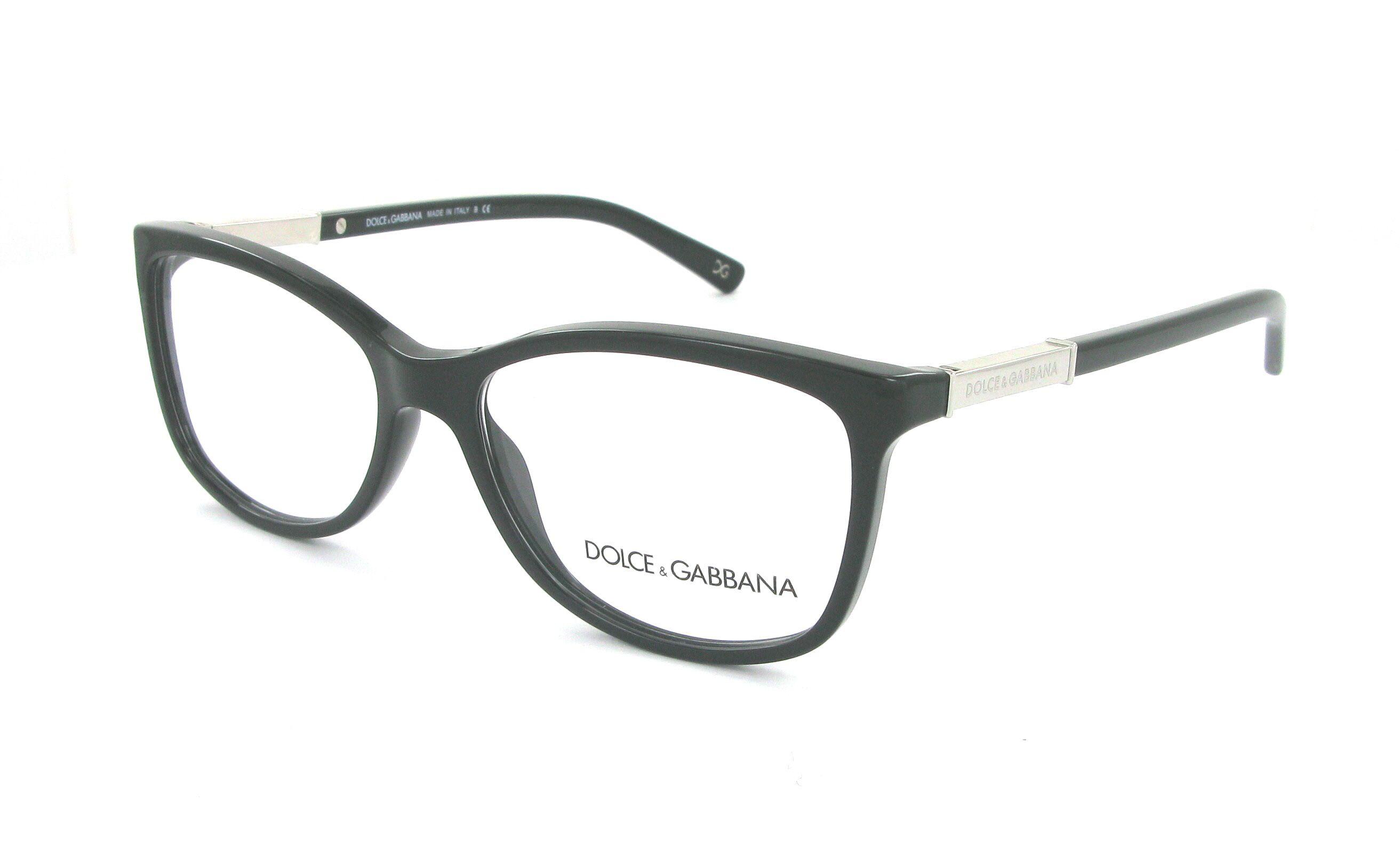 lunettes de vue dolce gabbana dg 3107 501 54 15 femme noir rectangle cercl e tendance 54x15. Black Bedroom Furniture Sets. Home Design Ideas