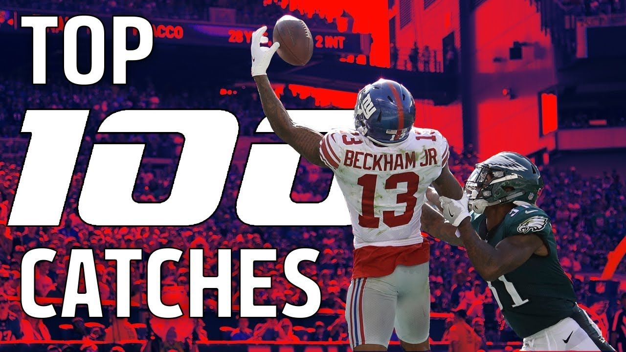 Top 100 Catches of the 2017 Season! NFL Highlights Nfl