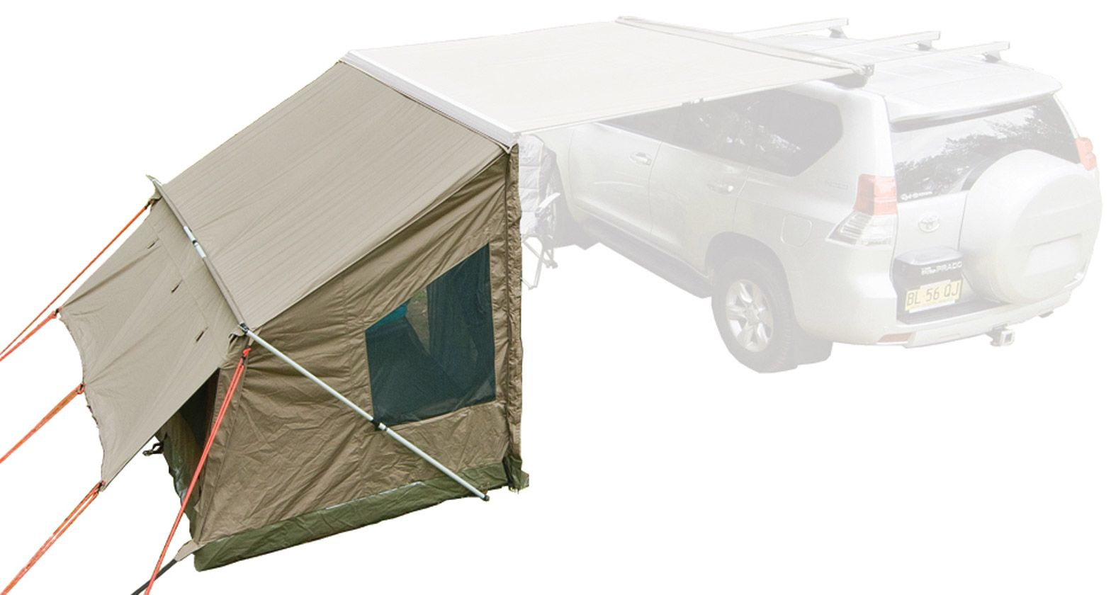 749 Rhino Rack S Tagalong Tent Is The Perfect Accessory For The Avid Camper Or Beach Goer Extend Your Adventure Overnig Family Tent Camping Tent Tent Camping