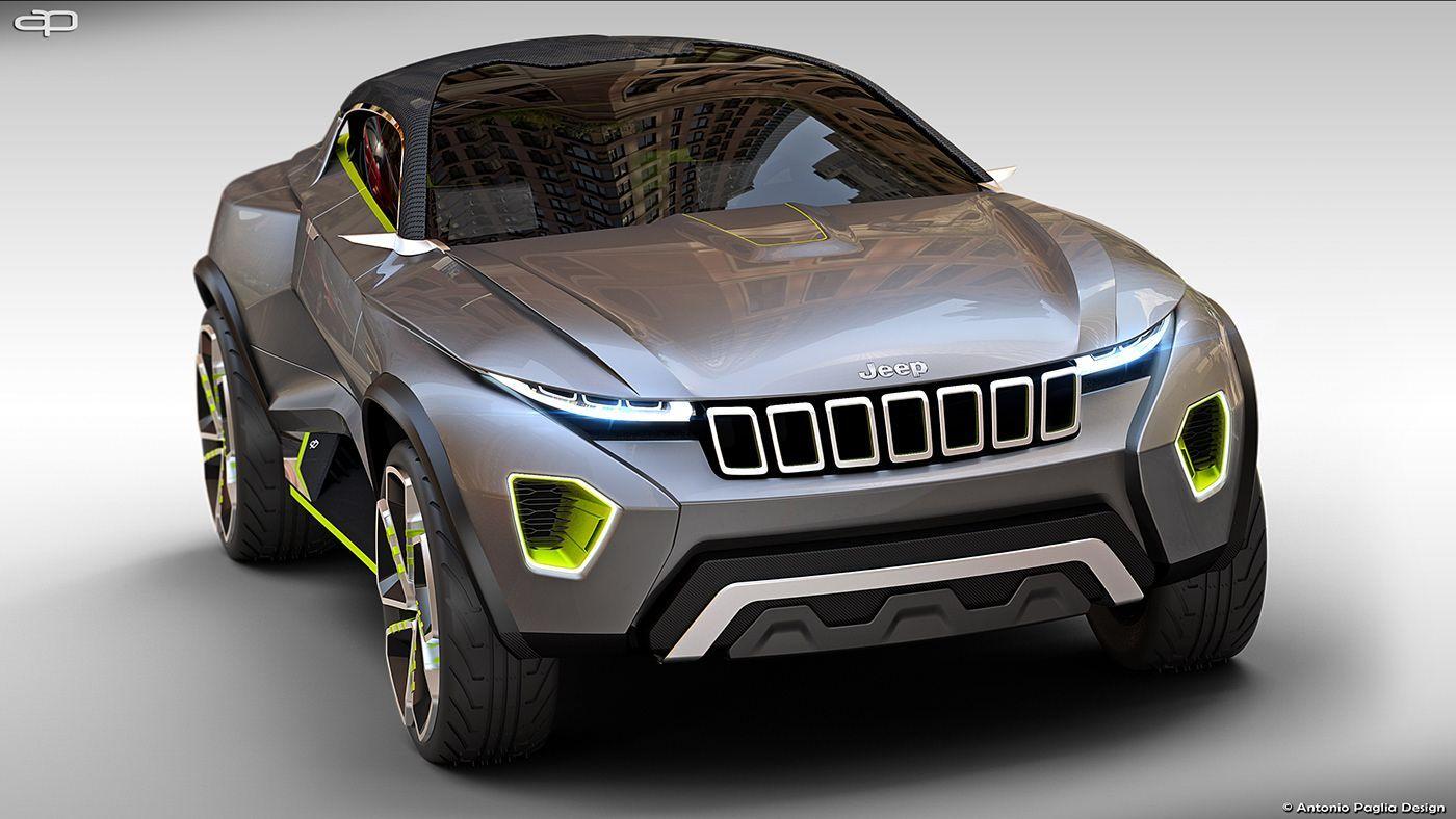 Jeep Concept Freedom Suv Jeep Concept Concept Cars Jeep Suv