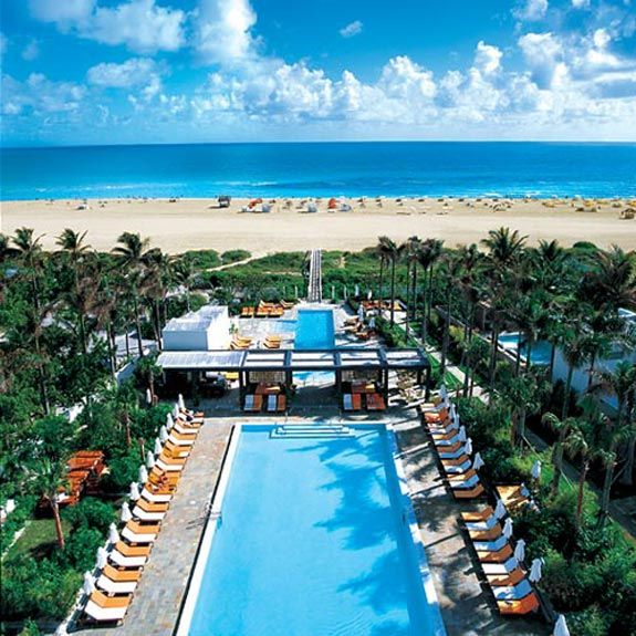 When In Miami Be Sure To Visit The Shore Club Pool South Beach Fabulous Pool And Atmosphere