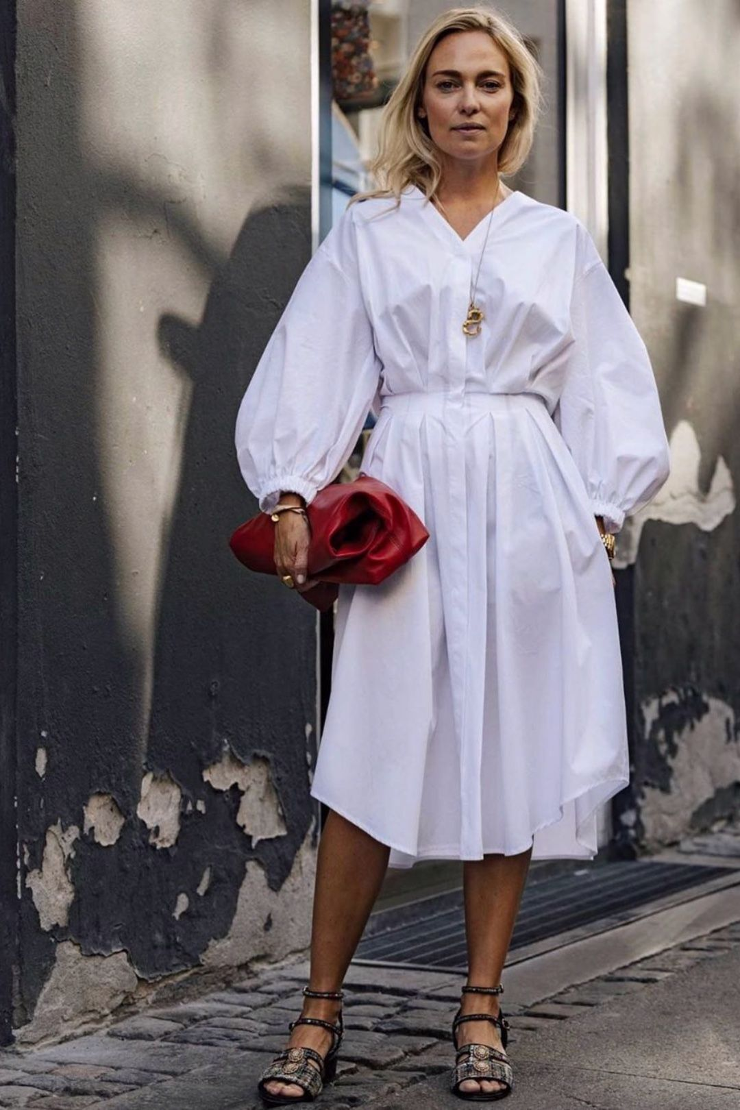 All White Minimal Outfits For Summer   Scandinavian fashion ...