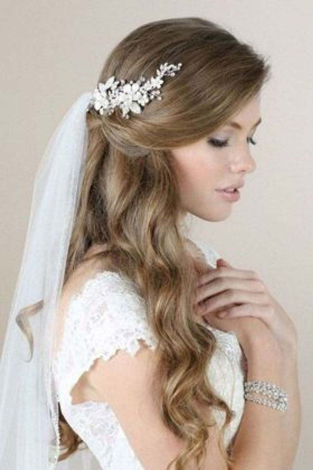 37+ Coiffure mariage voile des idees