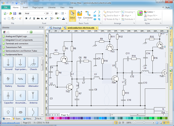Wiring Diagram Drawing Software - Wiring Diagrams DataUssel