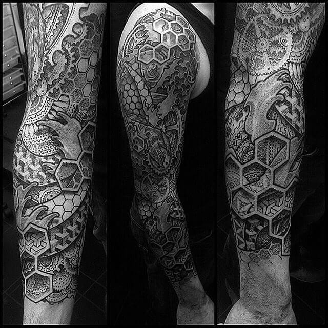 15 Fun & Trippy Triangle Tattoos | Tattoodo.com