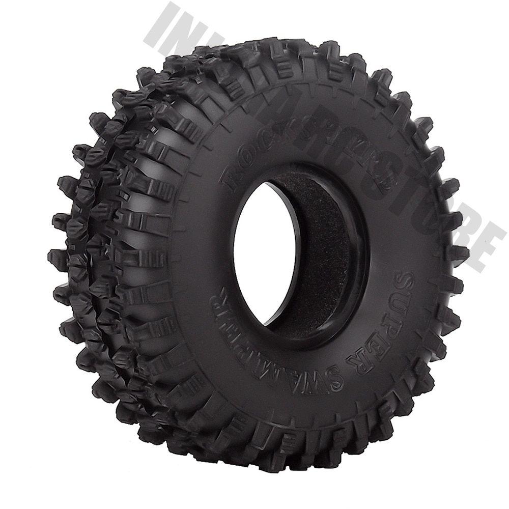 "4PCS/Set 120MM 1.9"" Rubber Wheel Tires for 1/10 RC Crawler"
