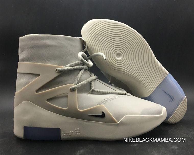 Nike Air Fear Of God 1 Light Bone Black Copuon