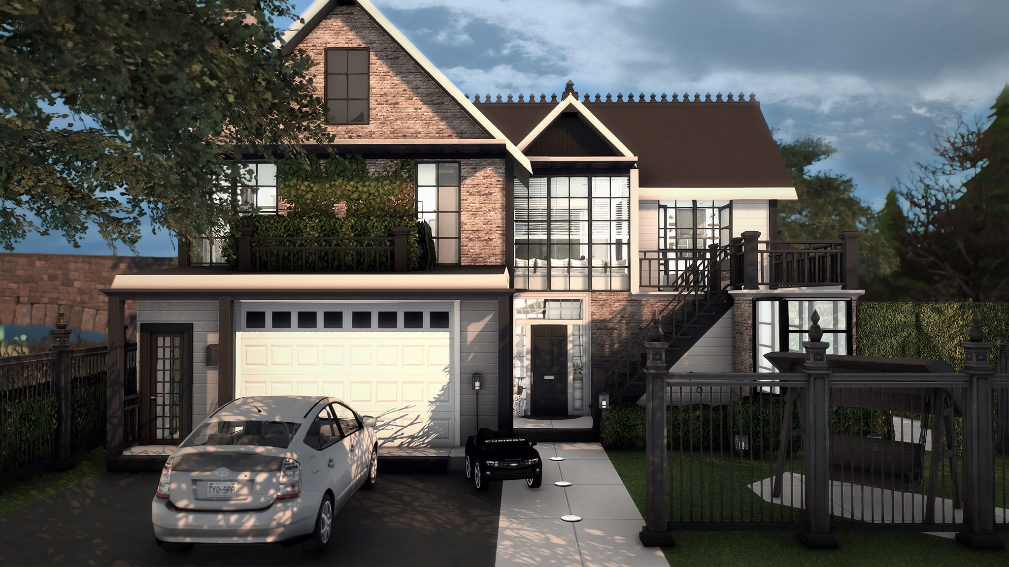 Jasmine Road Sims House Sims Building Sims 4 Houses